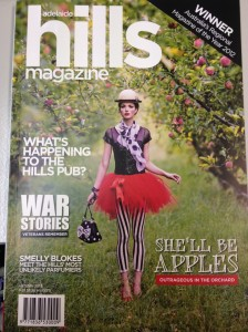 The Autumn 2013 edition of the Adelaide Hills Magazine.