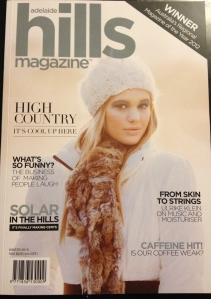 The beautiful Winter 2013 cover